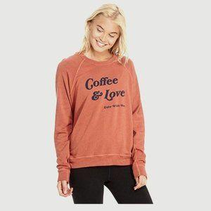 Good HYOUman Coffee & Love Enjoy While Hot Sweater